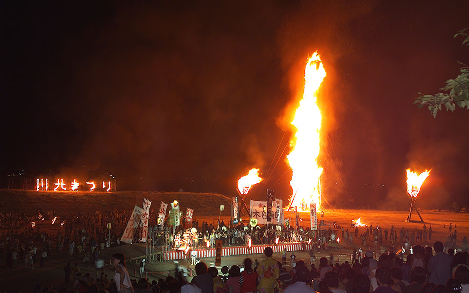 Tedori Fire Festival
