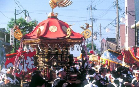 미카와 오카에리 축제